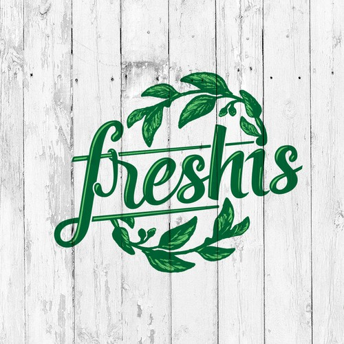 Logo for the vegetable and fruit grower.