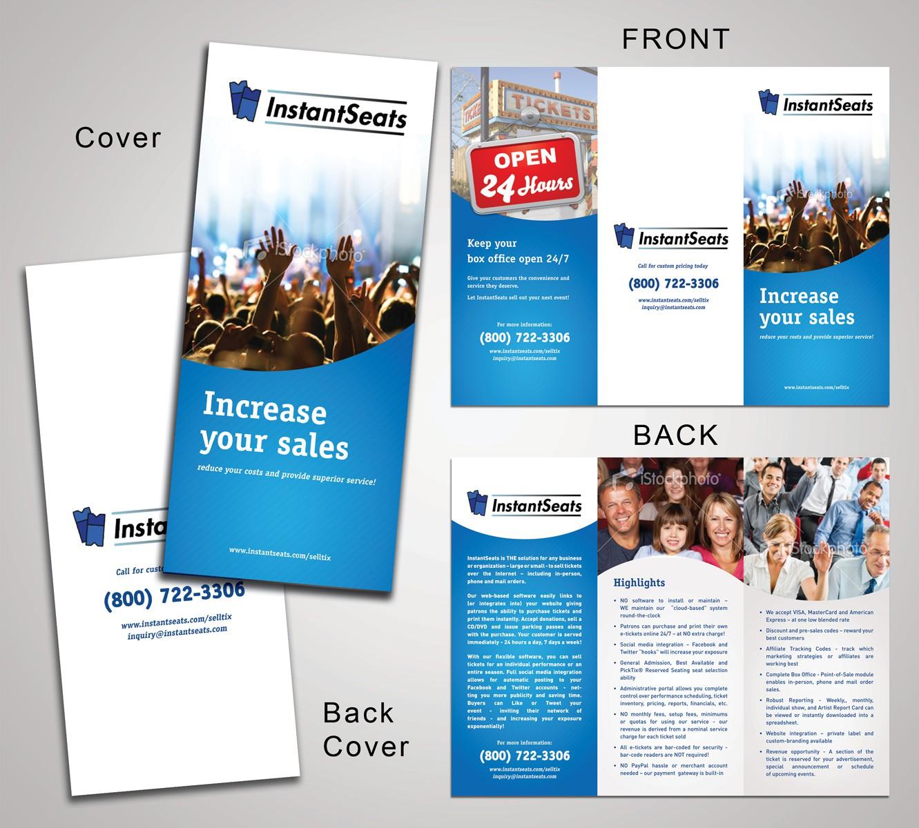 Help InstantSeats with a new brochure design