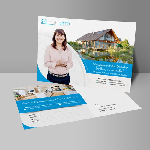 kerstin gierth immobilien (Postcard Design)