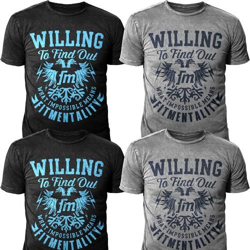 Tshirt Design for MMA FIGHTER