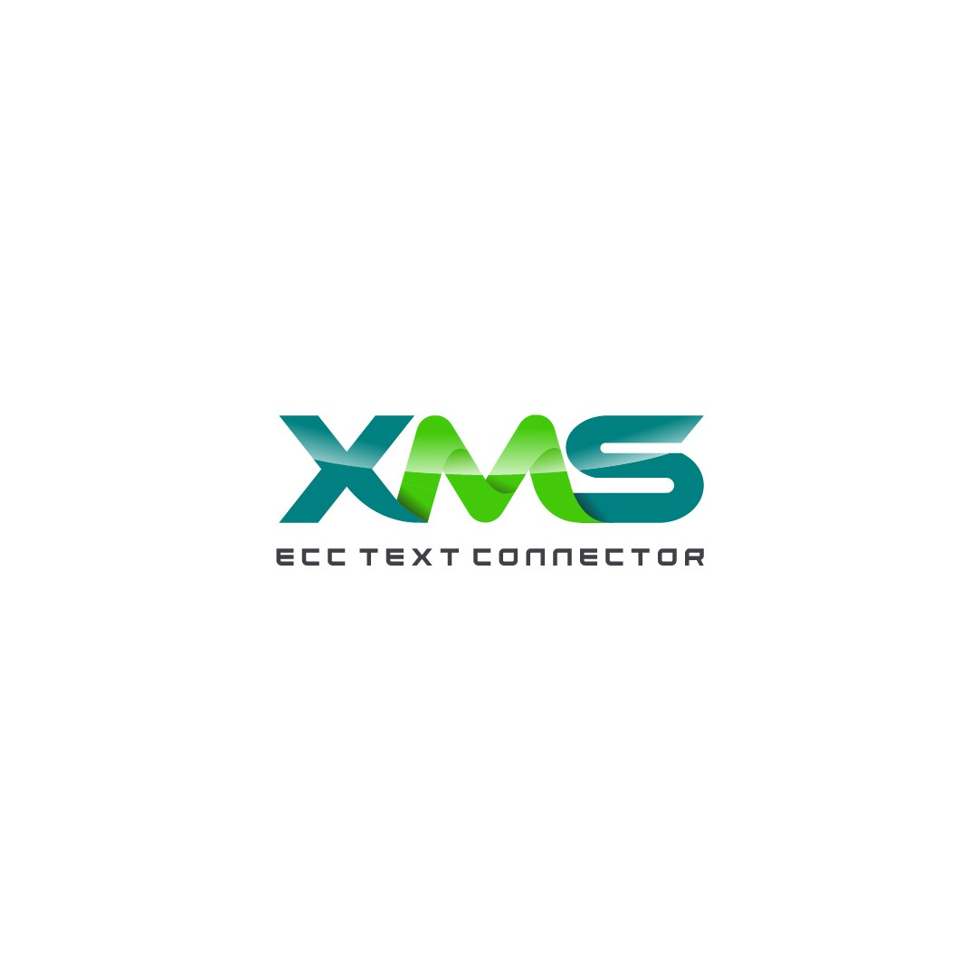 3D Graphite or Gloss XMS Logo for Text Enabler Product