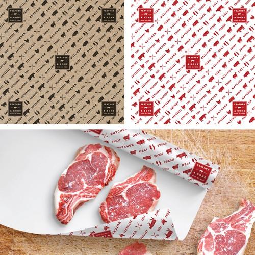 Butcher Paper Pattern Design