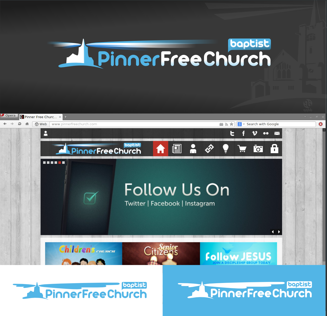 logo for Pinner Free Church (Baptist)