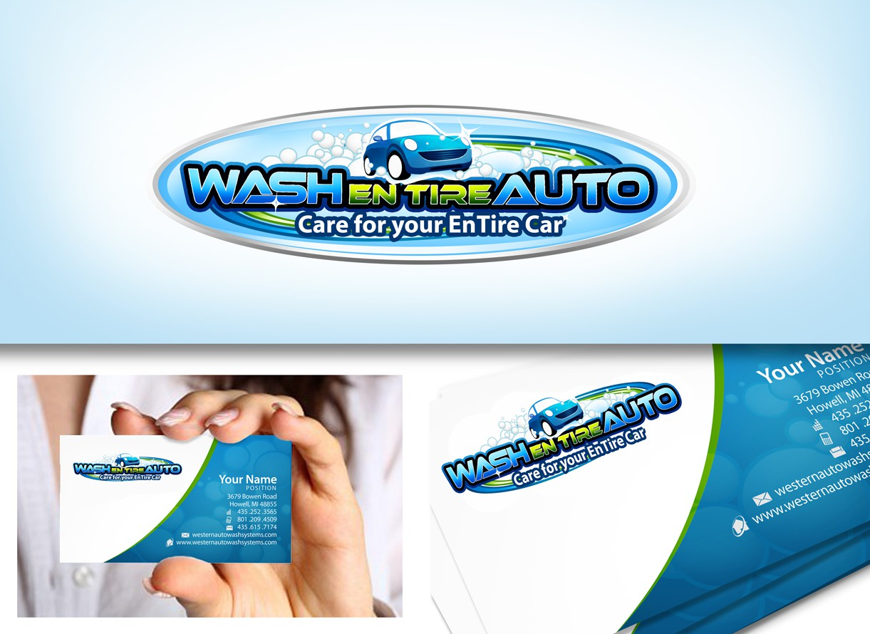 Help Wash En Tire Auto with a new logo