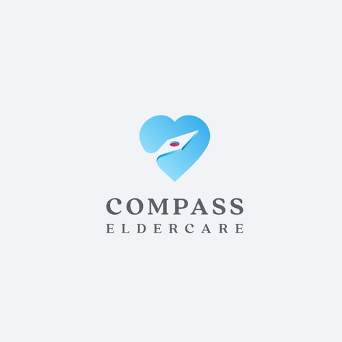 Logo for Compass Eldercare