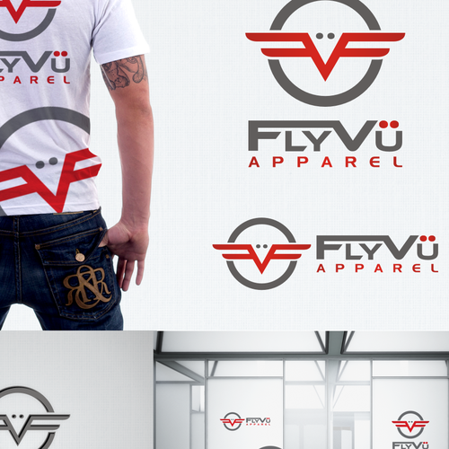 New logo wanted for FlyVü   or   FlyVü Apparel
