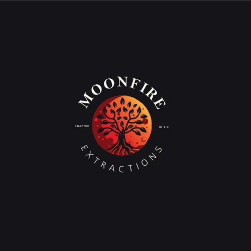 Moonfire logo concept.