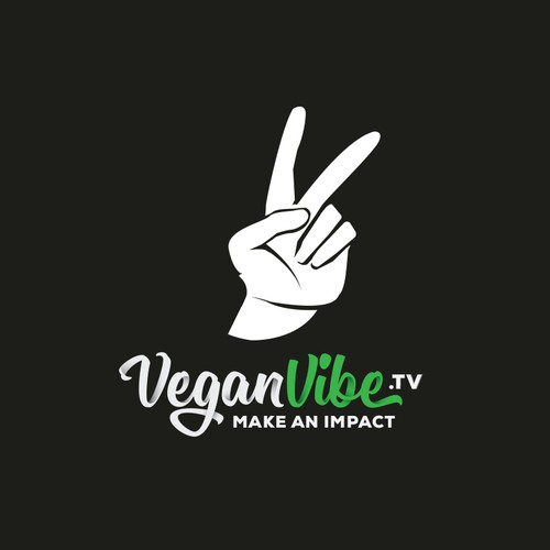 Logo for a vegan youtube channel