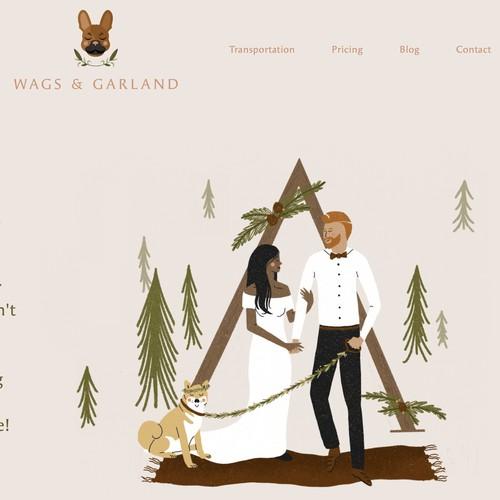 Wags & Garland Website Design & Development