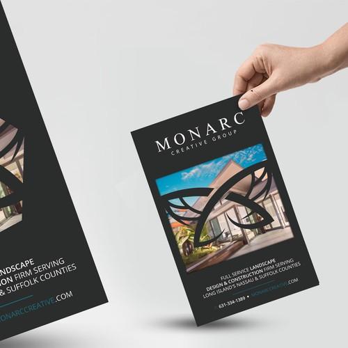 Landscape design flyer