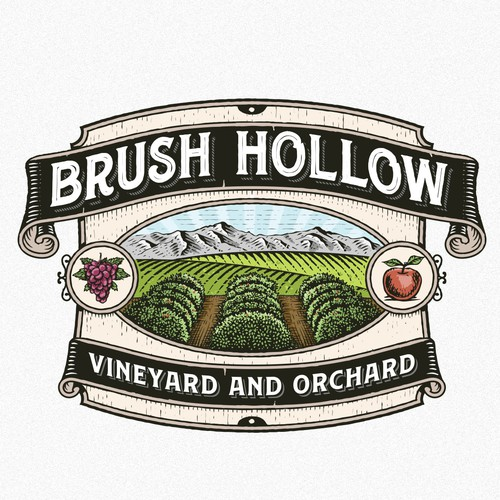 Brush Hollow Vineyard and orchard