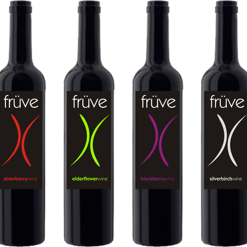 Fruve WInes needs a new label design!