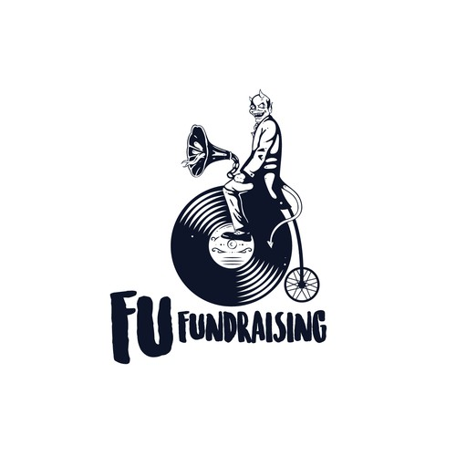 Stand out logo design for Fu Fundraising
