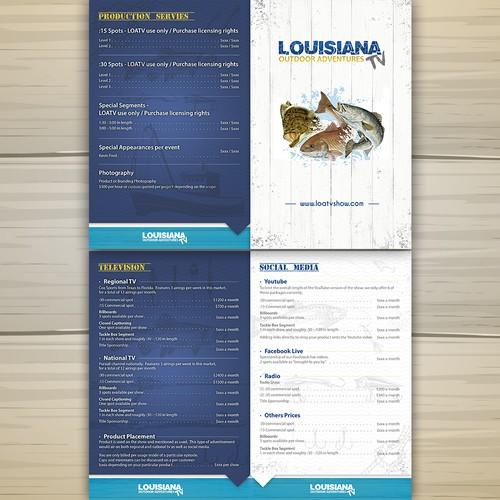 Louisiana Outdoor Adventures Menu