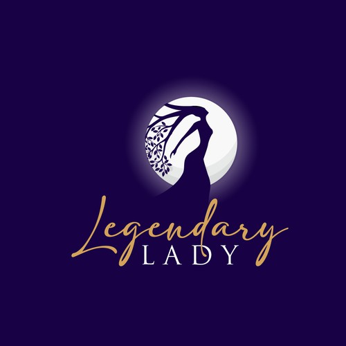 logo for legendary lady brand