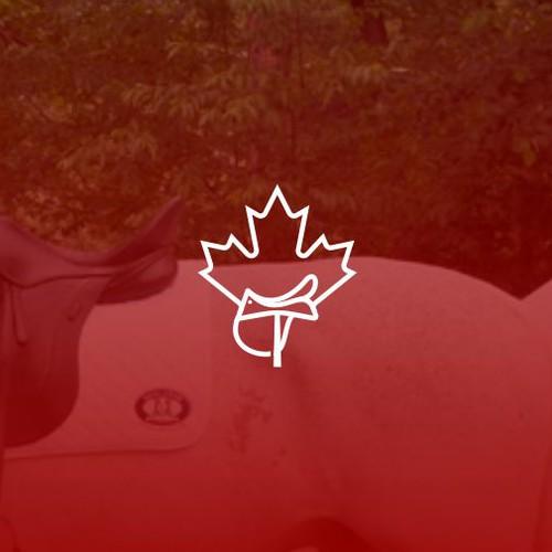 Saddles Canada logo design concept
