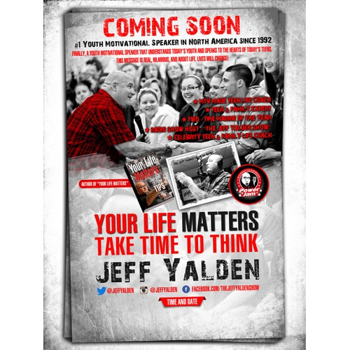 Jeff Yalden International needs a new postcard, flyer or print