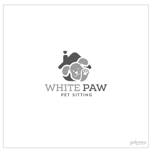 White Paw Logo Design