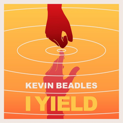 "an illustration cover art for Indie Pop-Rock digital single ""I Yield"""