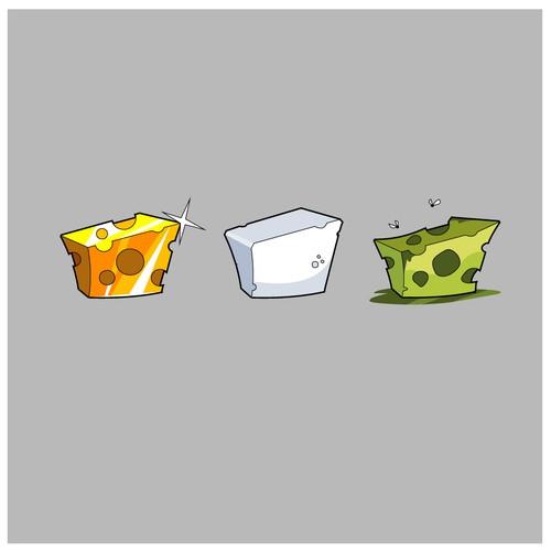 Cartoon Cheese icons