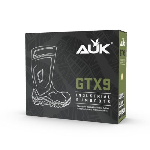 GTX9 Industrial Gumboots