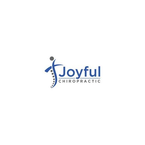 Concept logo for Joyful Chiropractic
