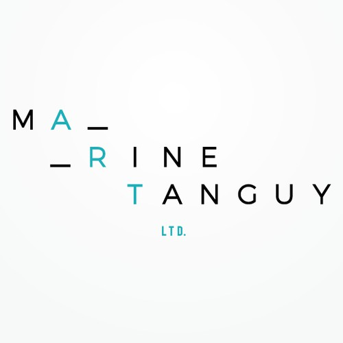 Logo for a contemporary art agent and gallerist