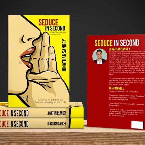 Cover design seduce In second