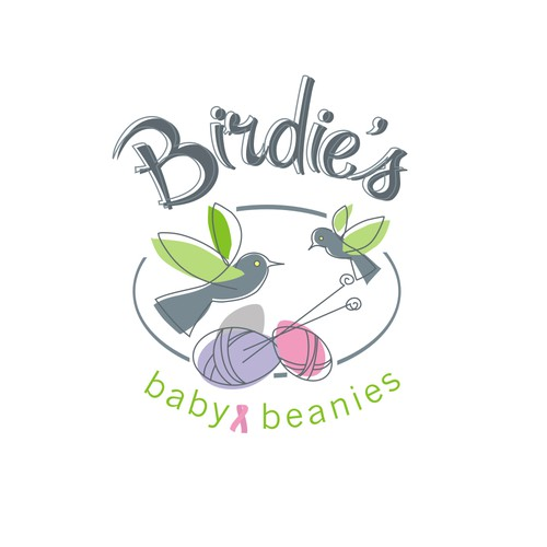 Logo for charity hand-made business