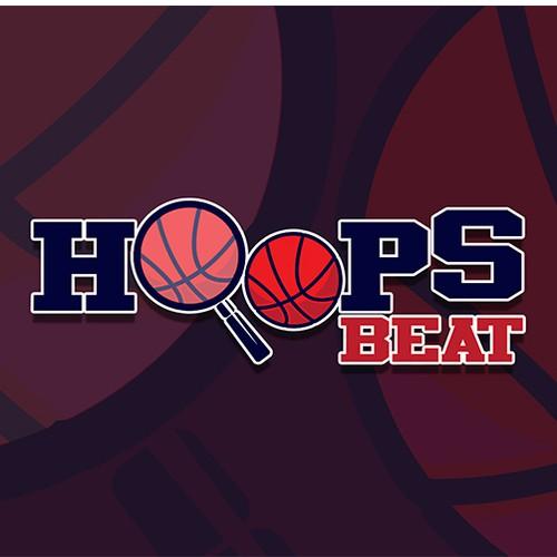Logo design for Hoops Beat basketball coach