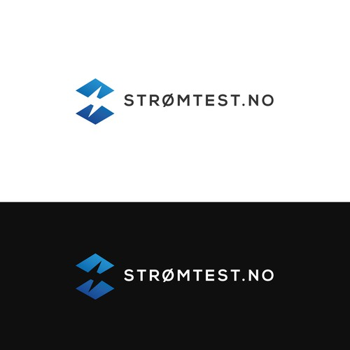 Strømtest.no needs a powerfull new logo