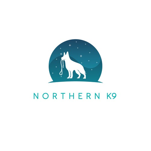 Logo concept for NORTHERN K9