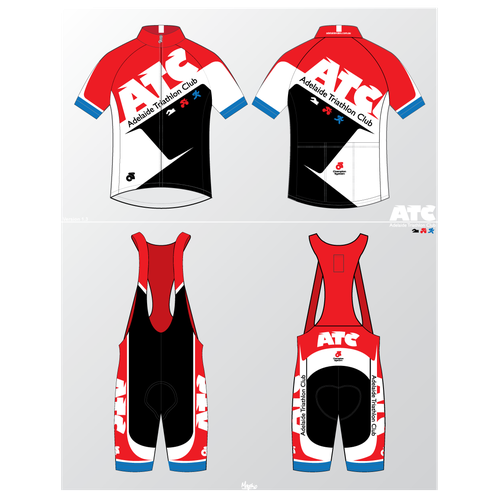 Triathlon Club kit - a fresh take needed on an old classic!
