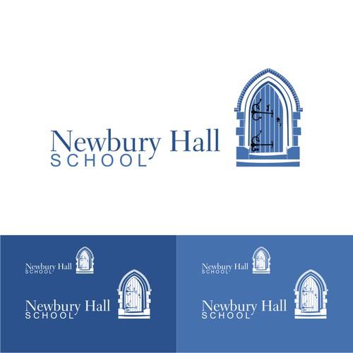 Logo for a school