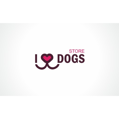 Create the next logo for I Love Dogs (** see additional details **)