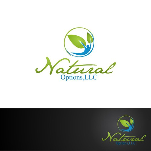 Create a Logo for a New and upcoming vitamin company Natural Options, LLC
