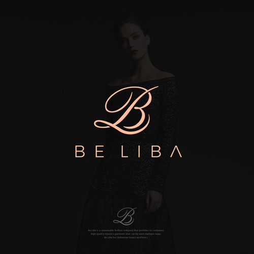 Logo luxury for Be Liba