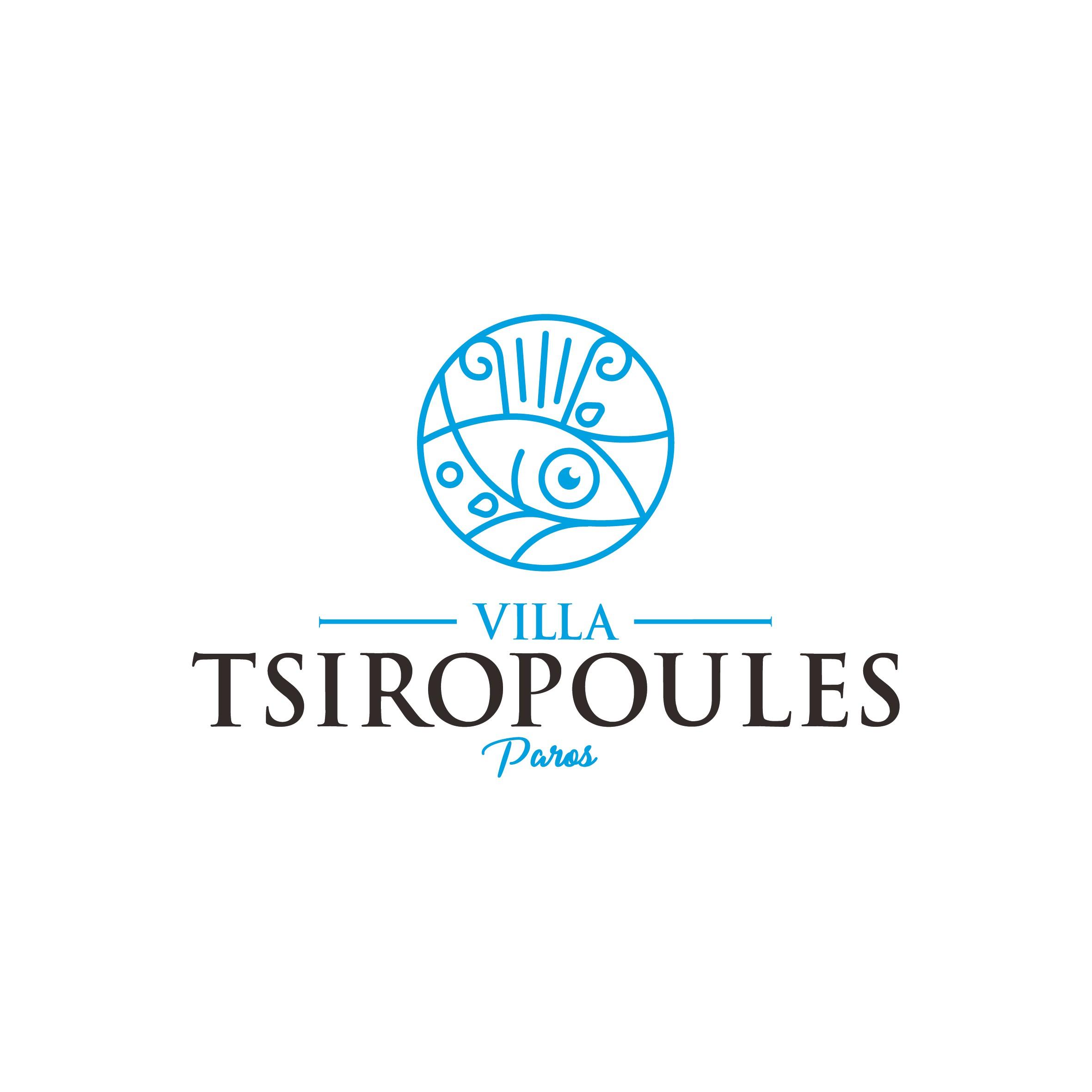 Créer un logo pour une villa luxueuse grecque