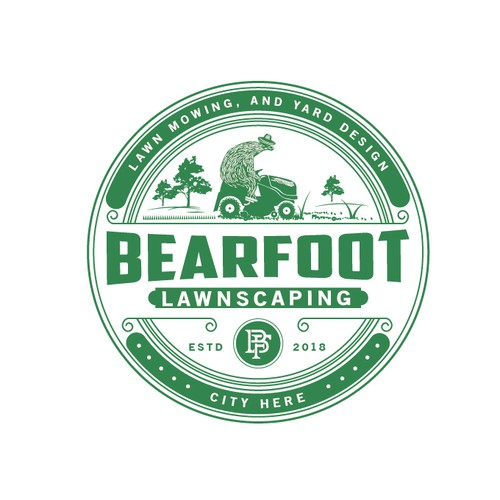 Bearfoot Lawnscaping.