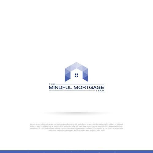 Mordern Minimalist Logo for Mindful Mortgage