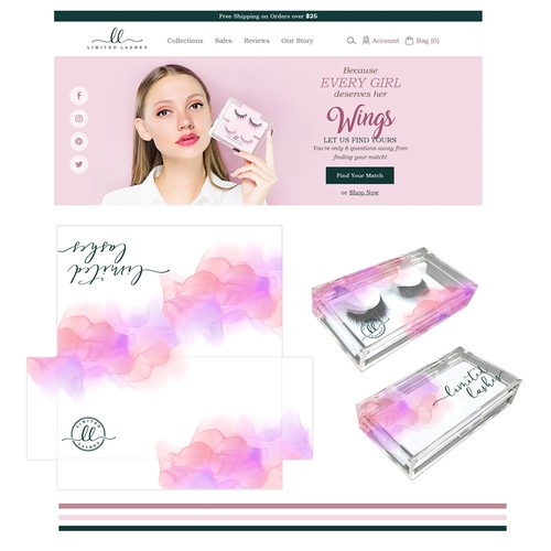 Product Packaging for Limited Lashes