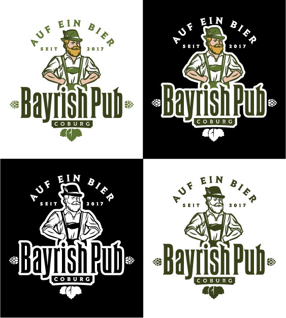 Erstelle ein Perfektes Logo für eine neue Trendlocation  - Bayrish Pub