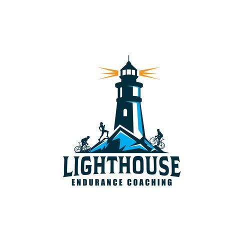 Lighthouse Endurance Coaching logo design