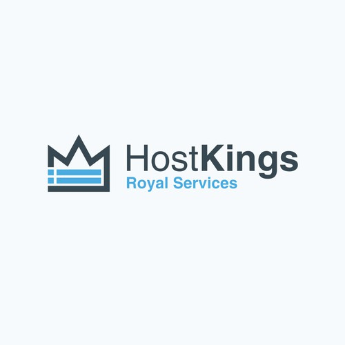 hosting and king icon