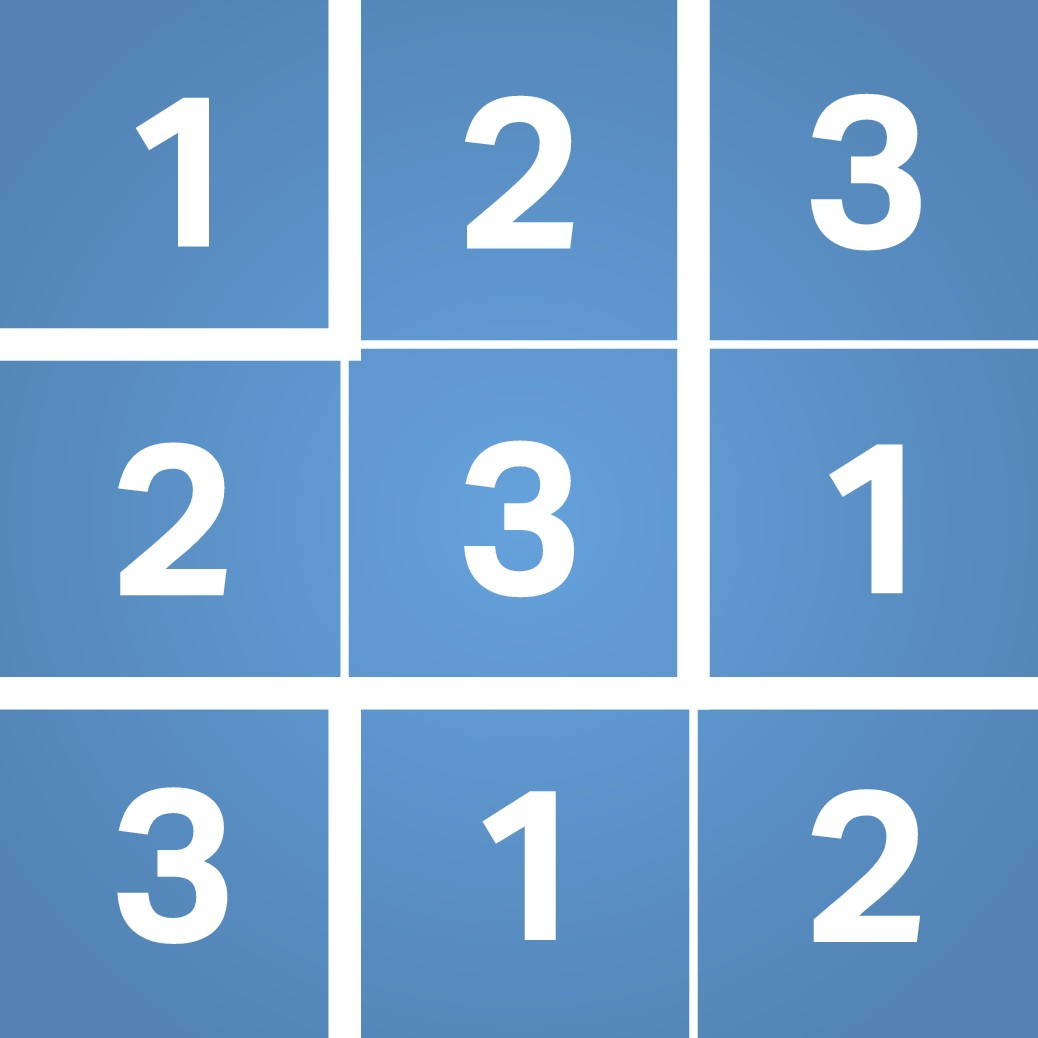 Design a new iOS app icon for a Sudoku-like puzzle game