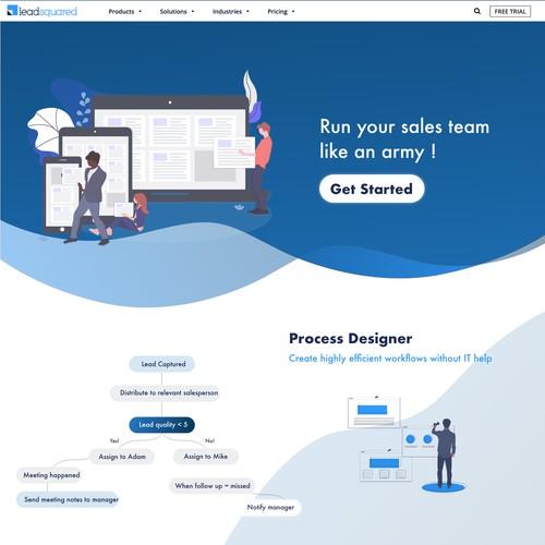 Design for sales company