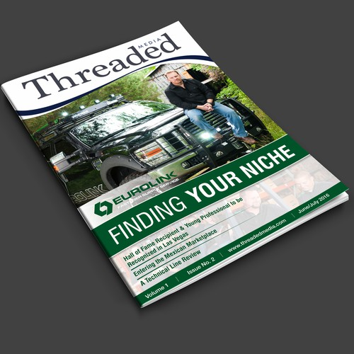 Magazine Cover for Threaded