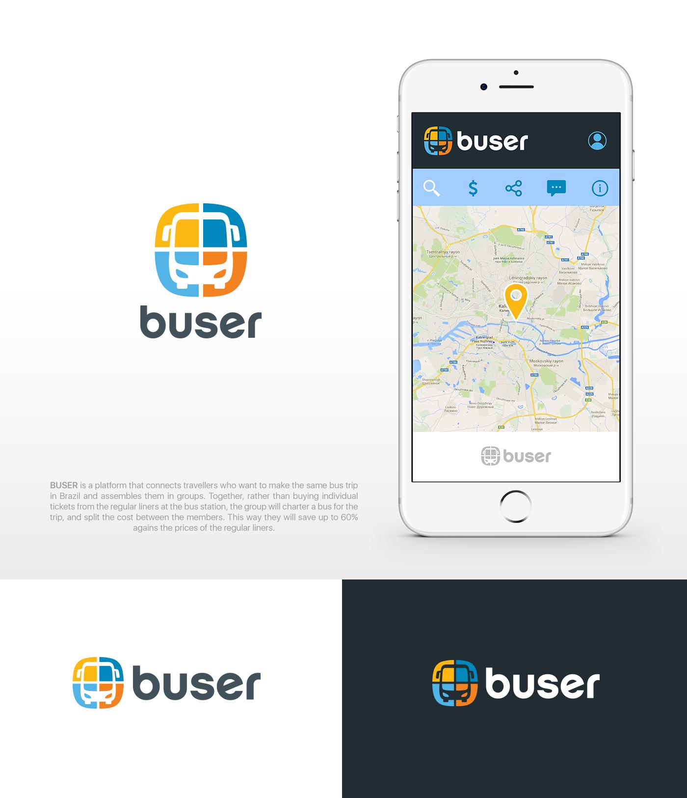 Buser is uber for intercity bus travel in Brazil!