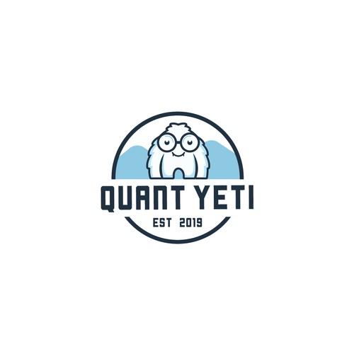 Logo concept for Quant Yeti.