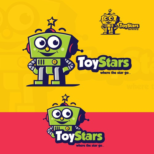design logo for ToyStars